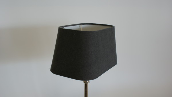 Lampenkap rechthoek met ronde hoek.